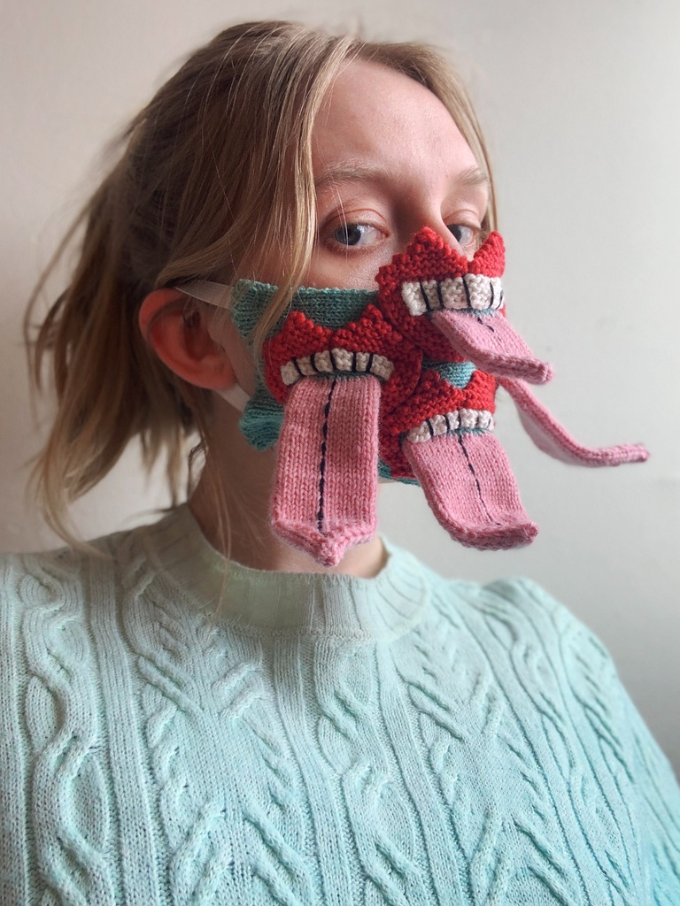 Art of Covid- Yrurari 3-D Knitted Masks