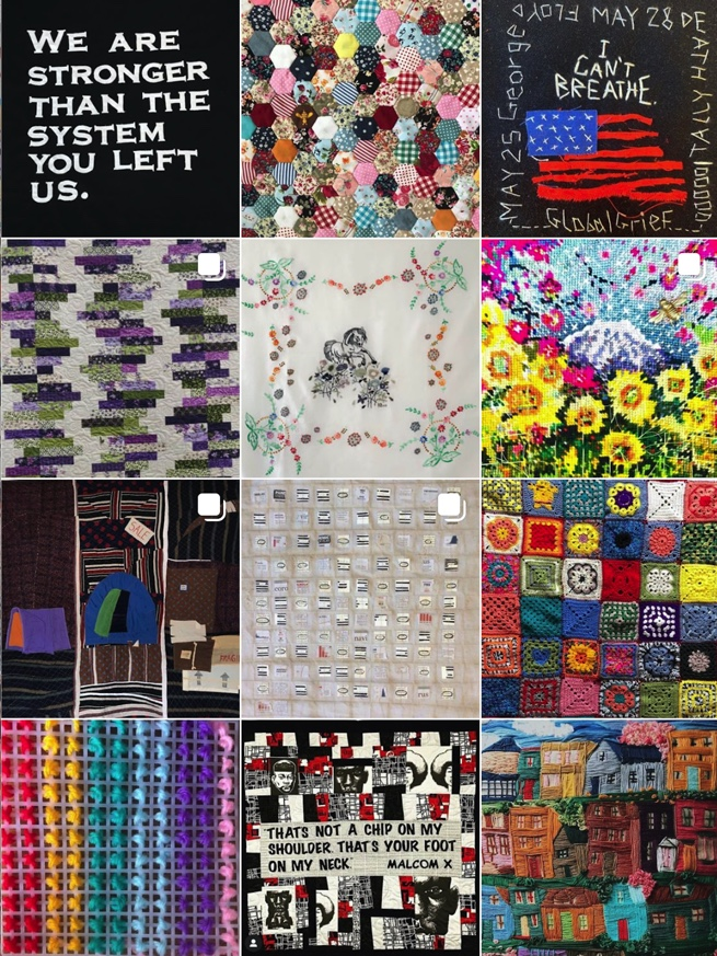 The Art of Covid- Covid 19 Quilt