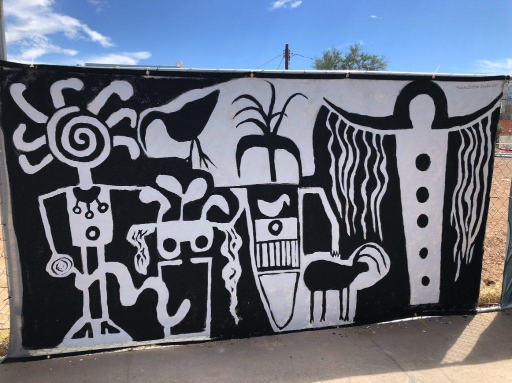 The Art of COVID-Sandra Butler's 4 Avenue Mural